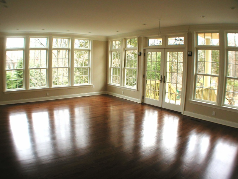Hardwood Floor Install Sand and Finish Chatham Morris County NJ
