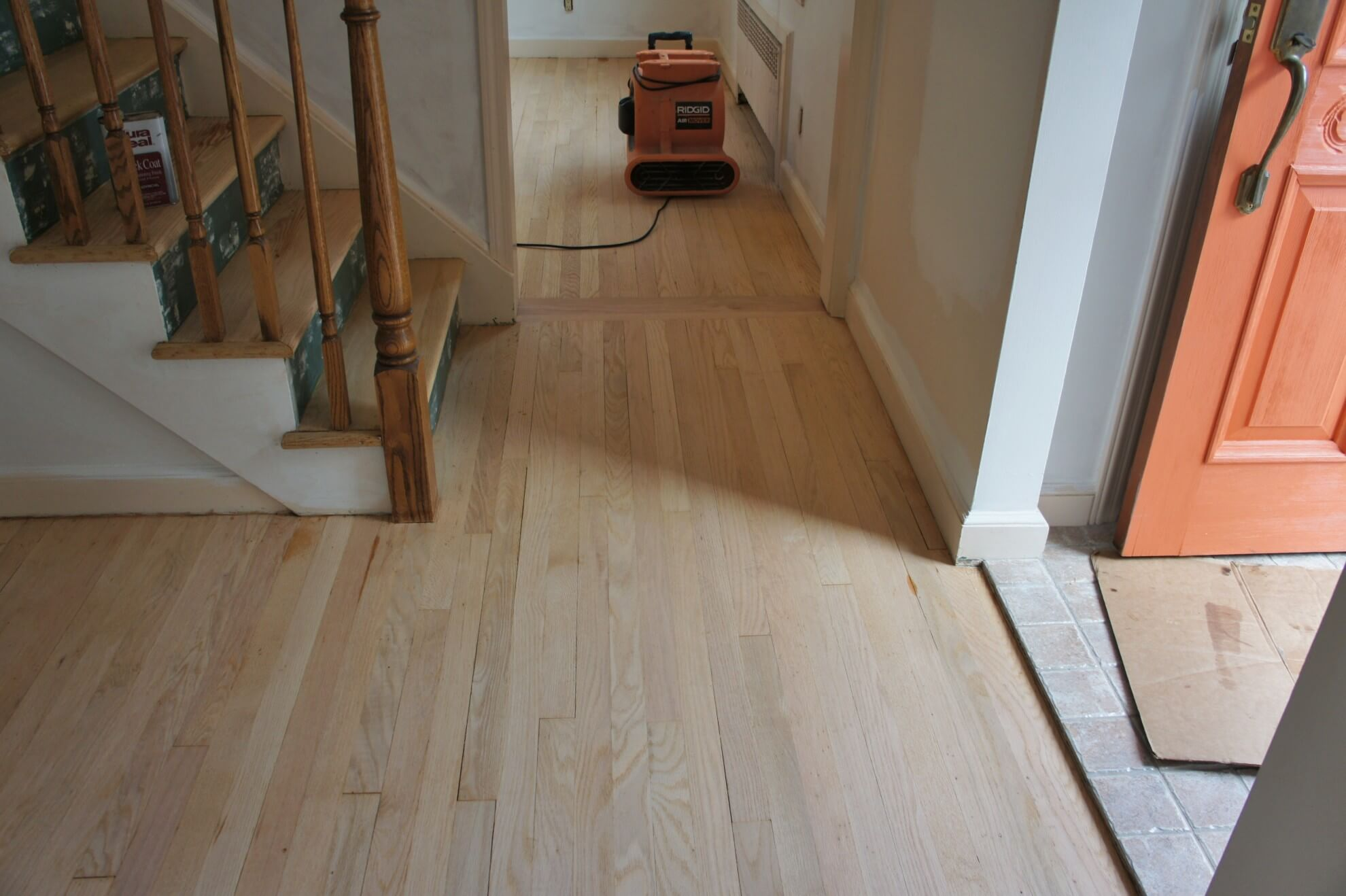 Wood flooring contractors keri wood floors for Sanding hardwood floors