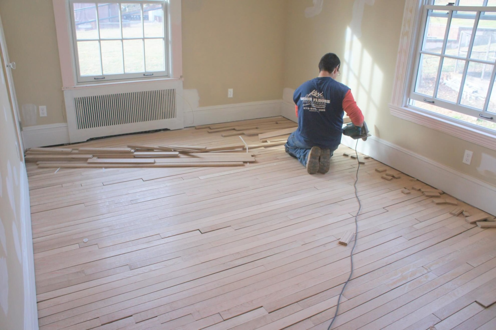 Hardwood vs. Laminate Flooring  in Kinnelon, NJ